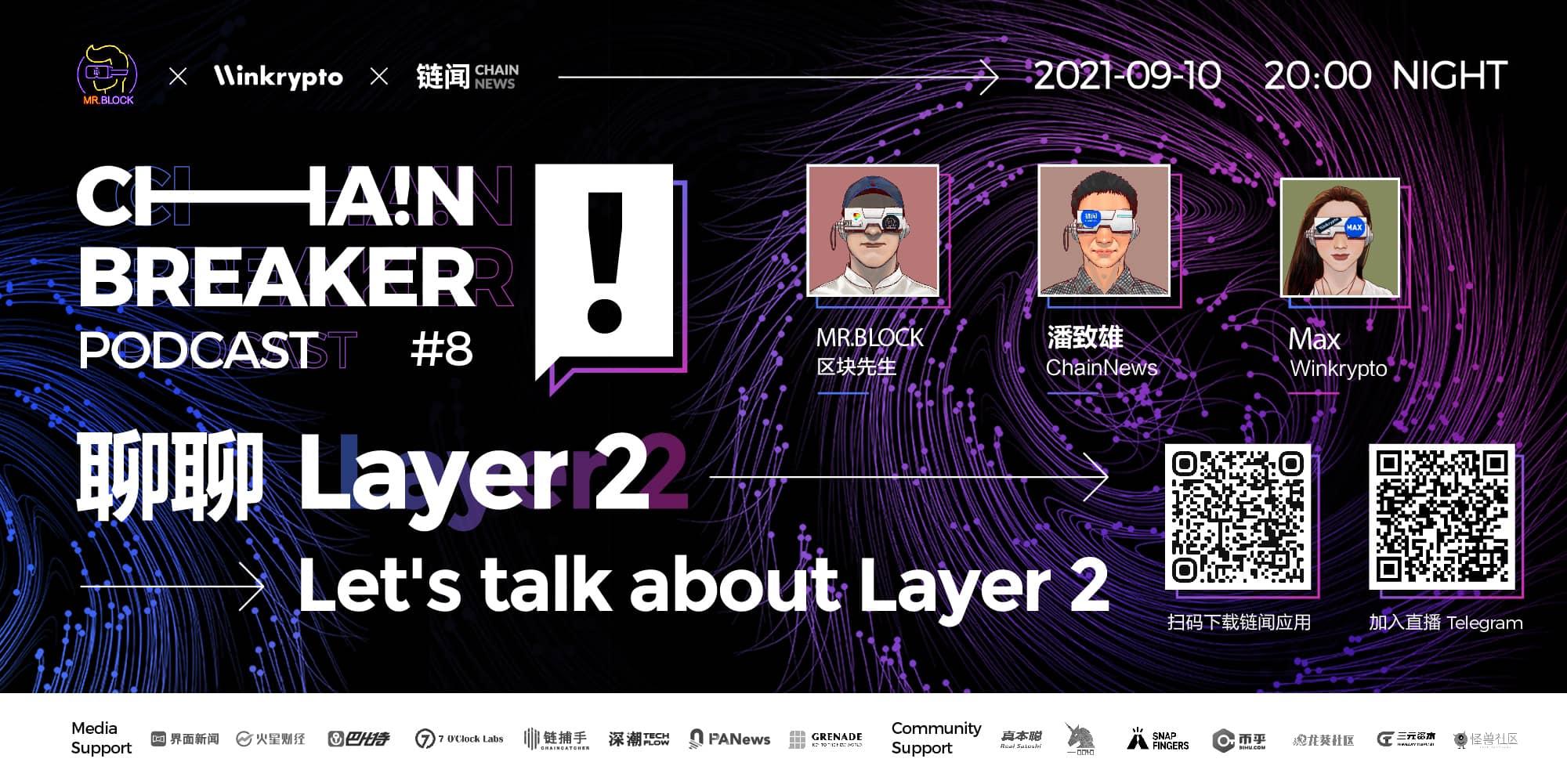 聊聊 Layer 2 | ChainBreaker Podcast 第八期精彩回顧