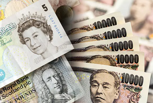英鎊/日元突破 6 月底以來最高點154.00