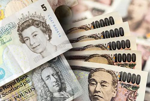 英鎊/日元飆升至 154.50 區域的三個月高位