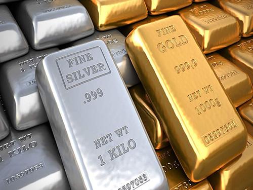 黃金、白銀開盤均上漲約0.5%
